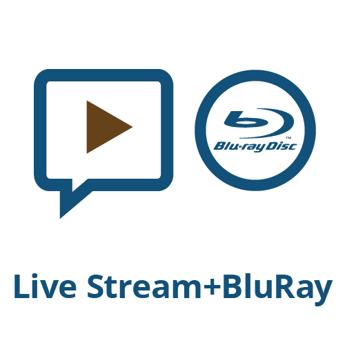 Live Stream + BluRay